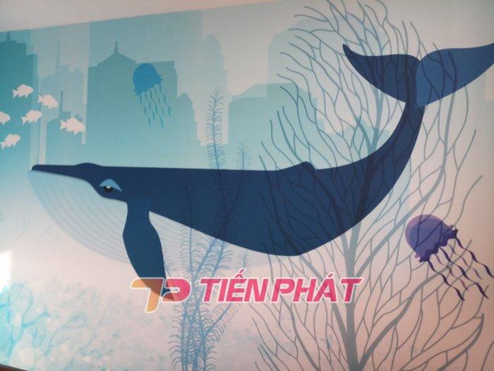 Tranh Dán Tường 3D Cho Trẻ Em Công Chúa Elsa TTE8011- Chất Liệu: PP Kim Sa Cao Cấp- Kích Thước: Khổ 1.25mx 1m2