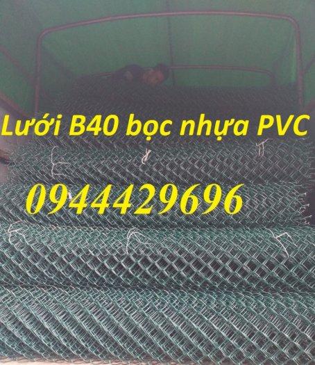 Lưới B40 bọc nhựa PVC làm sân tennis13