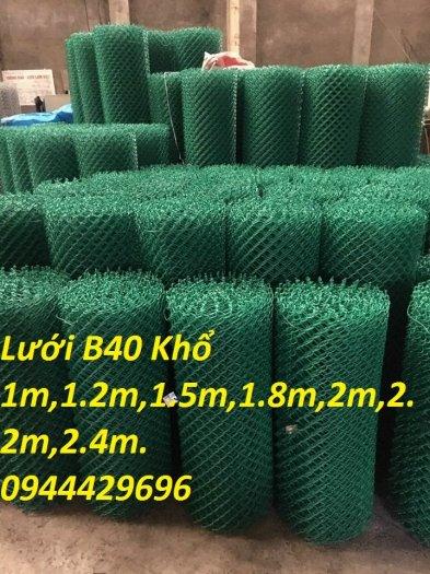 Lưới B40 bọc nhựa PVC làm sân tennis12