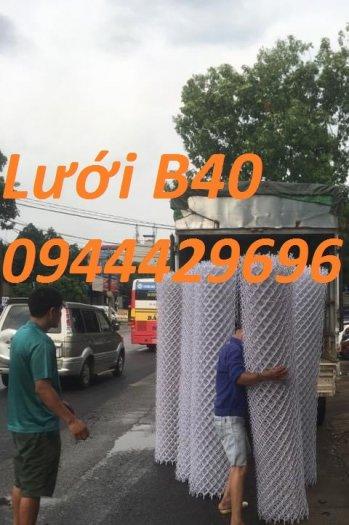 Lưới B40 bọc nhựa PVC làm sân tennis11