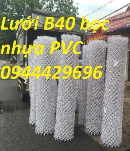 Lưới B40 bọc nhựa PVC làm sân tennis9