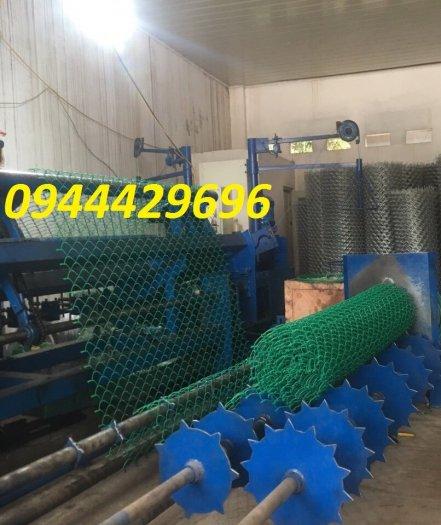 Lưới B40 bọc nhựa PVC làm sân tennis8
