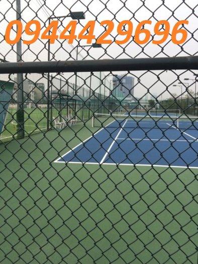 Lưới B40 bọc nhựa PVC làm sân tennis2