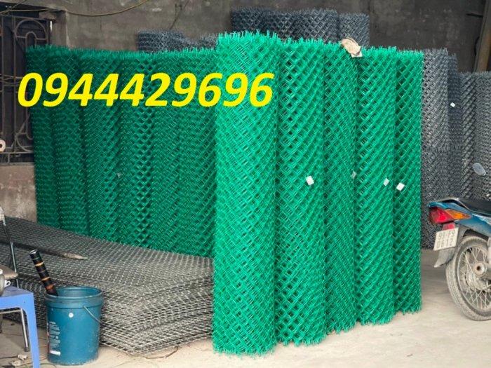 Lưới B40 bọc nhựa PVC làm sân tennis1