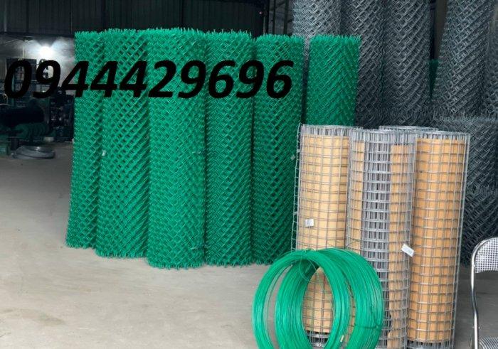 Lưới B40 bọc nhựa PVC làm sân tennis0
