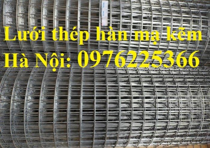 Lưới thép hàn D4 ô 100x100 thép đen, mạ kẽm sản xuất theo yêu cầu10