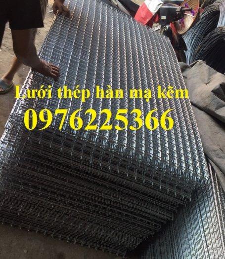 Lưới thép hàn D4 ô 100x100 thép đen, mạ kẽm sản xuất theo yêu cầu9