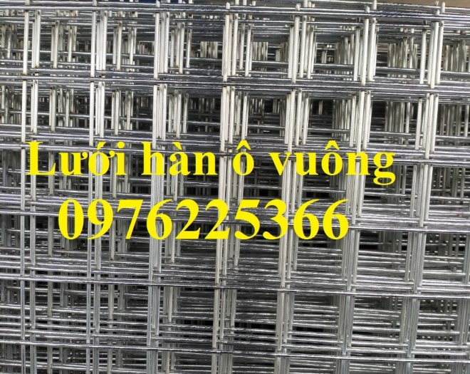 Lưới thép hàn D4 ô 100x100 thép đen, mạ kẽm sản xuất theo yêu cầu6