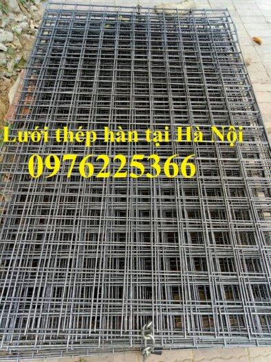 Lưới thép hàn D4 ô 100x100 thép đen, mạ kẽm sản xuất theo yêu cầu3