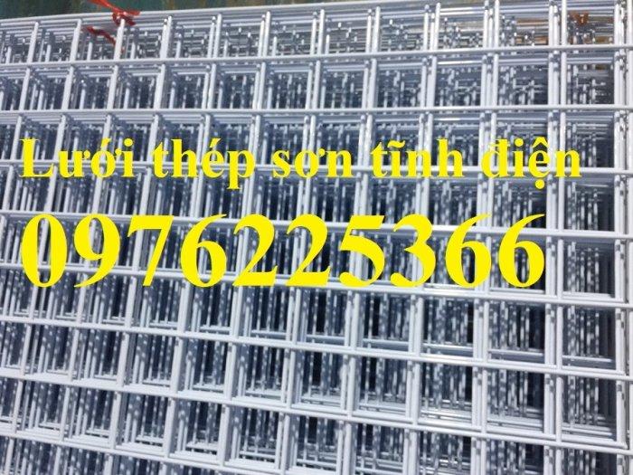 Lưới thép hàn D4 ô 100x100 thép đen, mạ kẽm sản xuất theo yêu cầu2