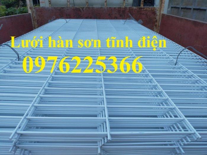 Lưới thép hàn D4 ô 100x100 thép đen, mạ kẽm sản xuất theo yêu cầu1