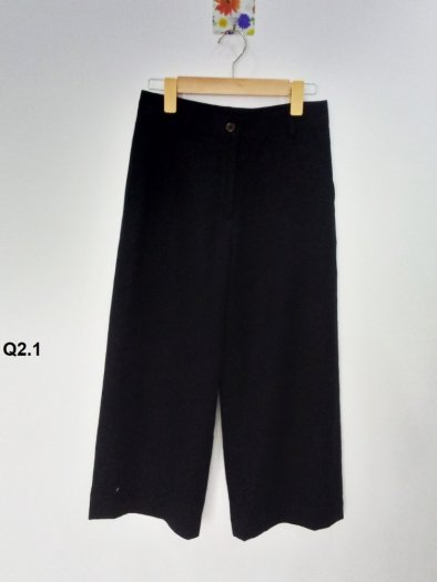 Quần nữ kiểu lửng ống suông thời trang cao cấp Q2.12