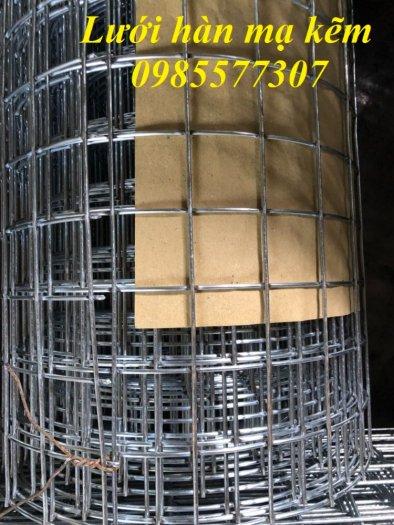 Lưới làm giàn lan,lưới mạ kẽm,lưới hàn ô vuông mạ kẽm5