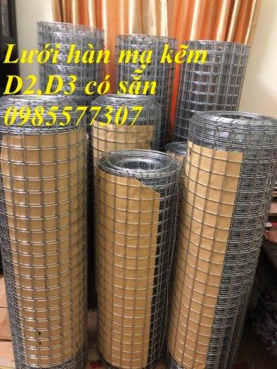 Lưới làm giàn lan,lưới mạ kẽm,lưới hàn ô vuông mạ kẽm2