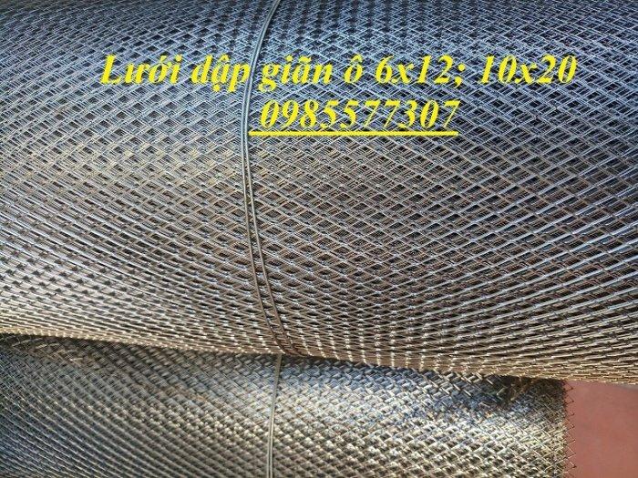 Lưới dập giãn trát tường 6x12; 10x20 hàng có sẵn0