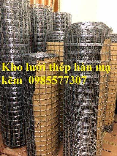 Lưới thép hàn mạ kẽm D3 a50x50, D4 a50x50 hàng sẵn kho2