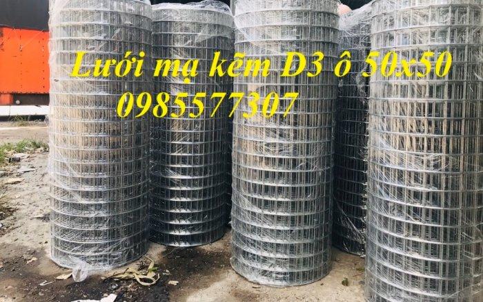 Lưới thép hàn D4 a50x50 dạng cuộn và dạng tấm3