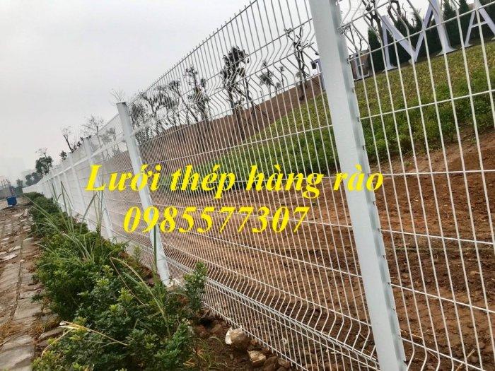 Sản xuất và thi công lưới hàng rào D4,D5 a50x150, D5 a50x2006