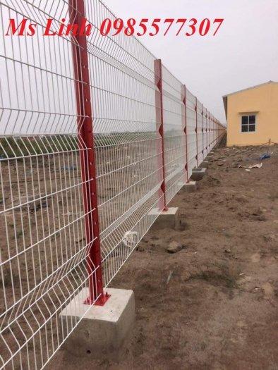 Sản xuất và thi công lưới hàng rào D4,D5 a50x150, D5 a50x2002