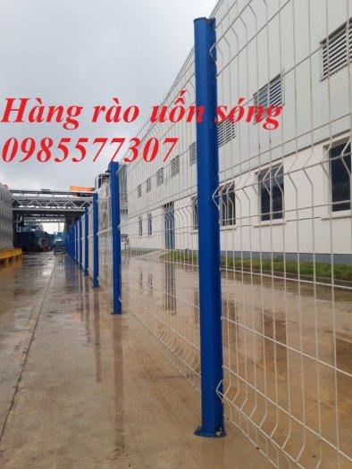 Sản xuất và thi công lưới hàng rào D4,D5 a50x150, D5 a50x2001