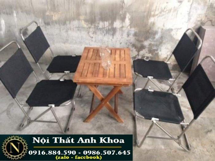 Bàn ghế xếp i nót làm tại xưởng sản xuất anh khoa =08770