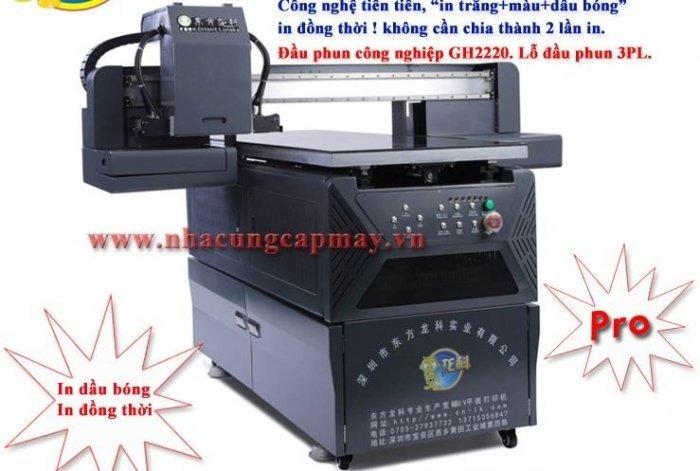 Máy In UV công nghiệp khổ nhỏ 6090 Pro2