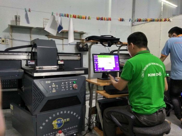 Máy In UV công nghiệp khổ nhỏ 6090 Pro1
