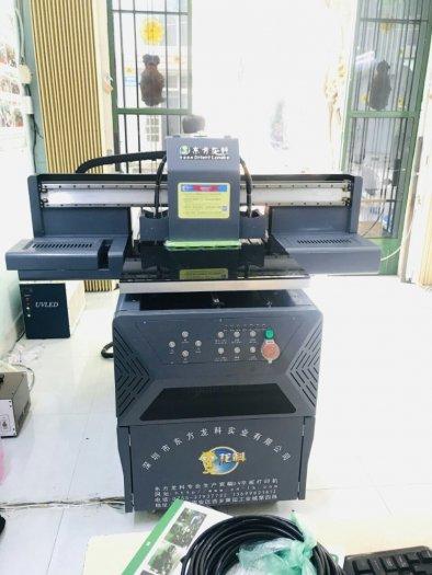 Máy In UV công nghiệp khổ nhỏ 6090 Pro0