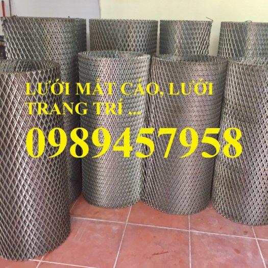 Sản xuất lưới thép dập giãn, Lưới hình thang, Lưới dập giãn inox10