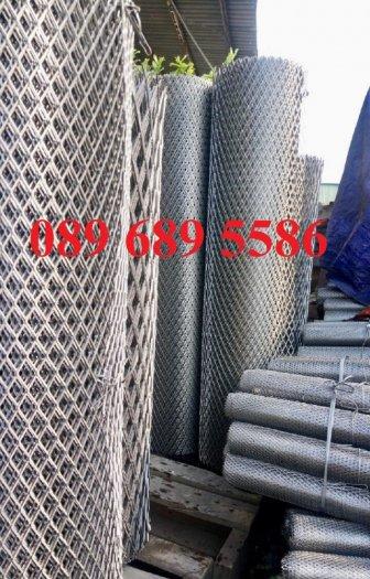 Sản xuất lưới thép dập giãn, Lưới hình thang, Lưới dập giãn inox9
