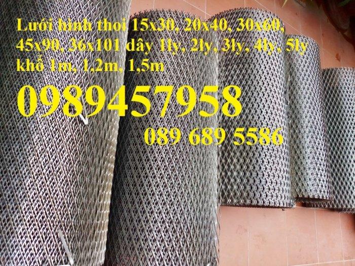 Sản xuất lưới thép dập giãn, Lưới hình thang, Lưới dập giãn inox8
