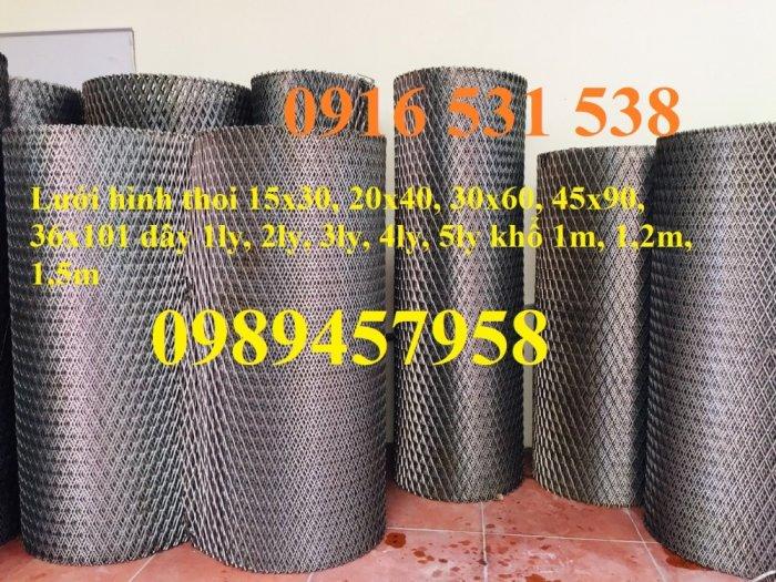 Sản xuất lưới thép dập giãn, Lưới hình thang, Lưới dập giãn inox4