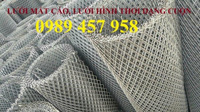 Sản xuất lưới thép dập giãn, Lưới hình thang, Lưới dập giãn inox1