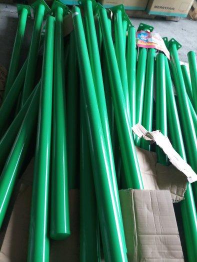 Lưới hàng rào D6 sơn tĩnh điện màu xanh lá, chấn sóng- Nhật Minh Hiếu1