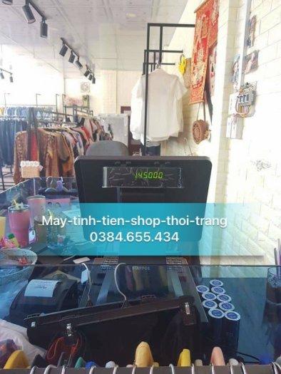 Lắp trọn bộ máy tính tiền cho shop thời trang tại hà tĩnh1