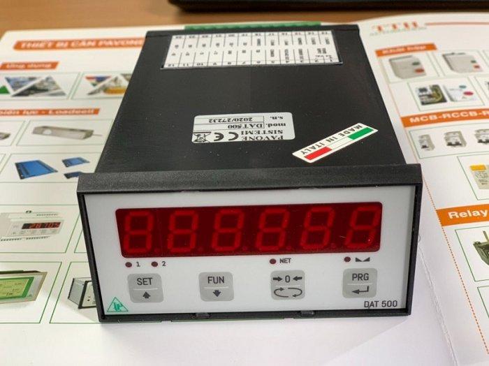 Đầu cân điện tử DAT500 sản xuất tại Italy, cập nhật bảng giá tốt nhất 2021 tại đây3