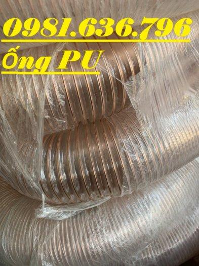 Ống máy hút bụi gân nhựa phi 76 , ống pu lõi đồng phi 7610