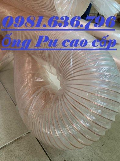 Ống máy hút bụi gân nhựa phi 76 , ống pu lõi đồng phi 763
