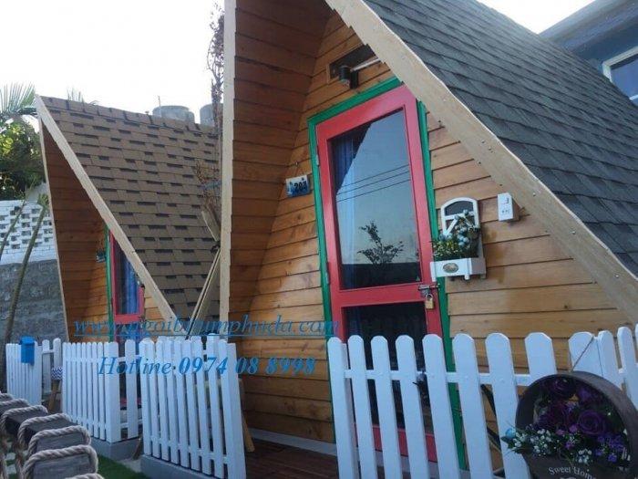 Ngói lợp nhà bungalow, tấm lợp nhựa đường cho nhà lắp ghép, ngói giả đá giá rẻ7