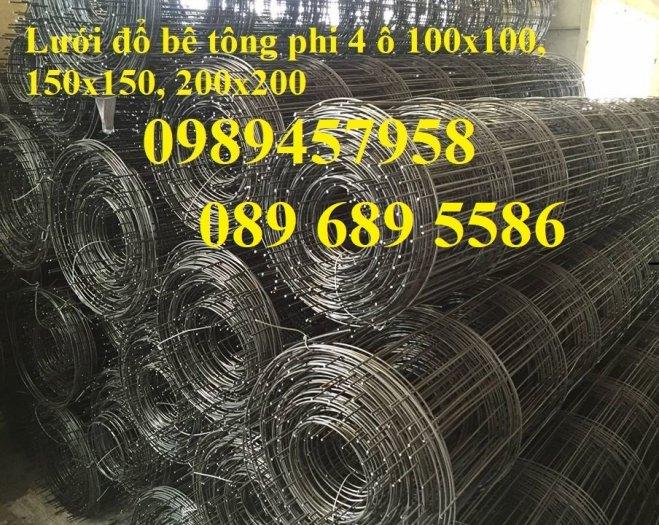 Lưới hàn mạ kẽm phi 3 30x30, 100x100, Tấm thép phi 3 a 50x50, Thép làm giàn lan1
