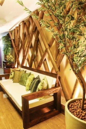 Bán cây tre trang trí ngoại thất, trang trí ngoại thất bằng cây tre, cây tre xử lý chống mối2
