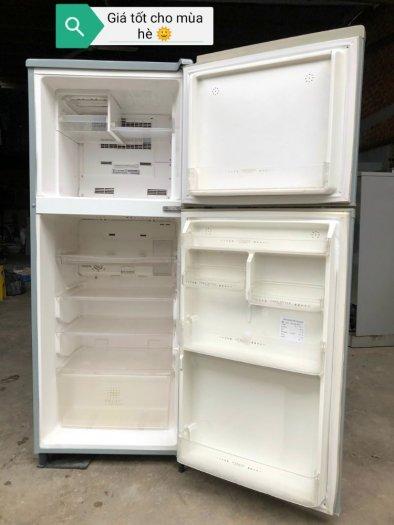 Tủ lạnh inveter Mitsubishi 200 lít0