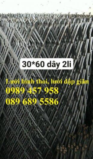 Phân phối lưới thép kéo giãn 30x60, 45x90, Lưới hình thoi trang trí , Lưới quả trám4