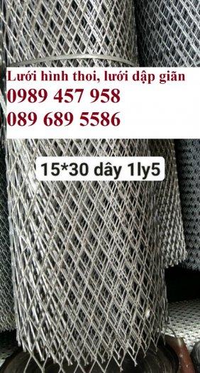 Phân phối lưới thép kéo giãn 30x60, 45x90, Lưới hình thoi trang trí , Lưới quả trám3