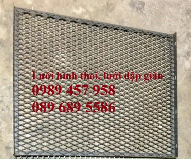 Phân phối lưới thép kéo giãn 30x60, 45x90, Lưới hình thoi trang trí , Lưới quả trám0