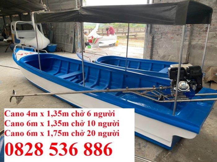 Cano chở 8-10 người, Cano chở 20 người 6mx1.75 giá tốt1