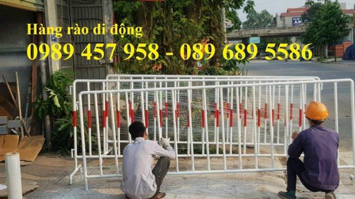 Hàng rào di động cách ly khu vực, Hàng rào di động có sẵn 1mx2m, 1,2mx2m, 1,5mx2m6