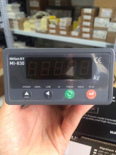 MI830 Đầu cân điện tử dùng cho cân đóng bao, cân phối trộn...Giá Tốt Nhất 2021 tại đây...4