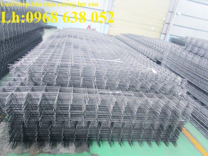 Lưới hàn cường lực D4, D5, D6, D8, D10 ô lưới 50*50, 100*100, 150*150, 200*2000