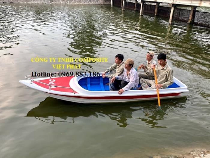 Xưởng ghe thuyền Composite Hà Nội  Việt Phát Thuyền cứu trợ lũ lụt, thuyền cứu hộ  thiện nguyện   -09698831868